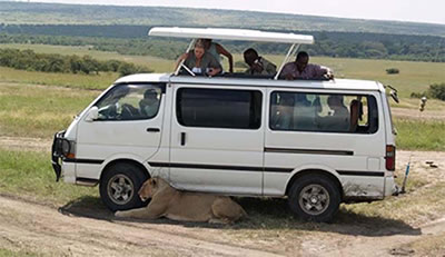Why The MiniVan Is The Ideal Group Vehicle To Hire In Kenya